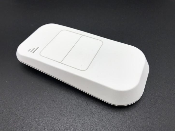 Sender Typenreihe S630L-200 weiß / 40,685 MHz / 2 Tasten