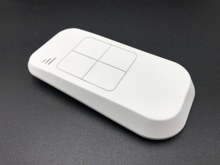 Sender Typenreihe S630L-400 weiß / 40,685 MHz / 4 Tasten